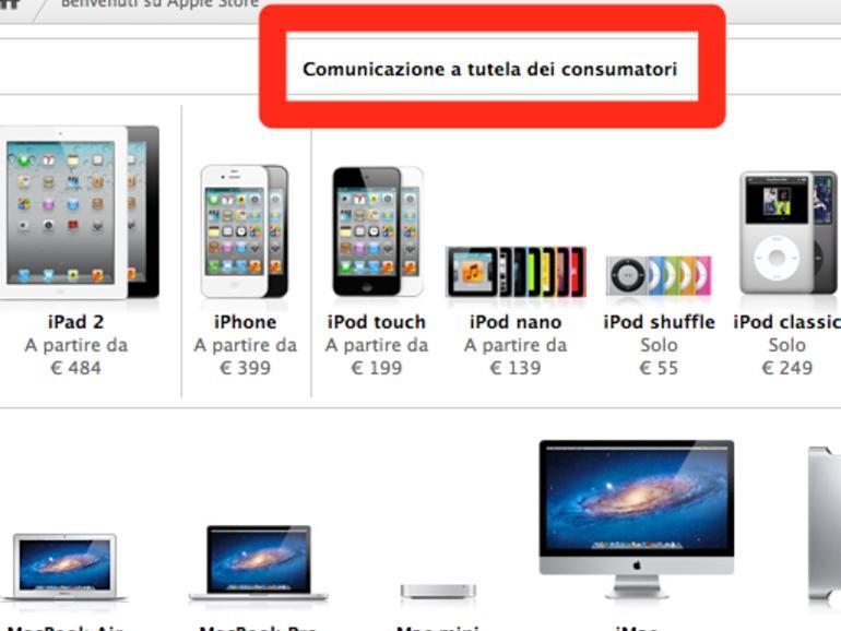 Italien: Streit um Apple-Garantie soll bis März geklärt werden