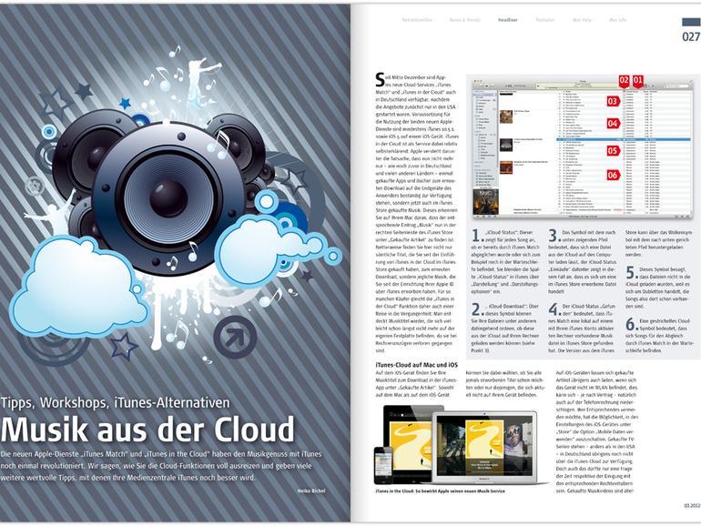 Mac Life 03.2012: 50 magische Tipps für OS X, Musik aus der Cloud u. v. m.