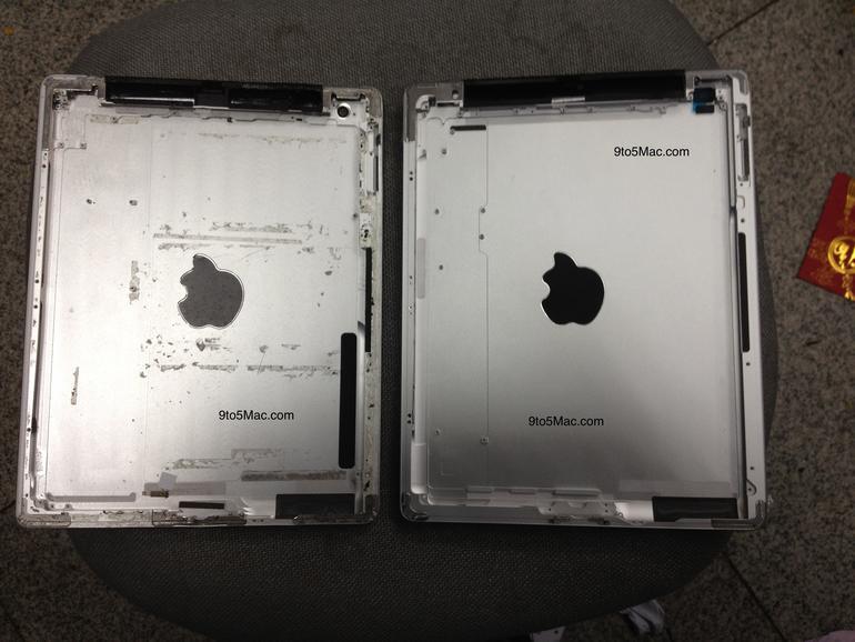 iPad 3: Hochaufgelöste Fotos der Rückseite, Zweifel an Quad-Core-Prozessor
