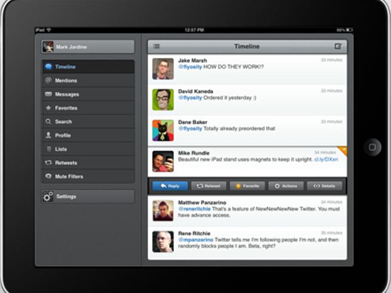 Tweetbot: Version 2.0 für iPhone erschienen & iPad-Version veröffentlicht