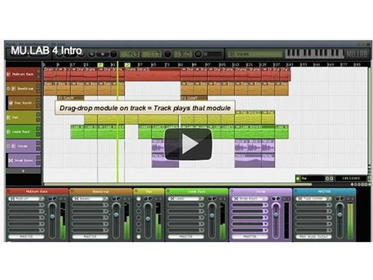 MuLab 4: Audio- und Musikproduktion auf PC und Mac