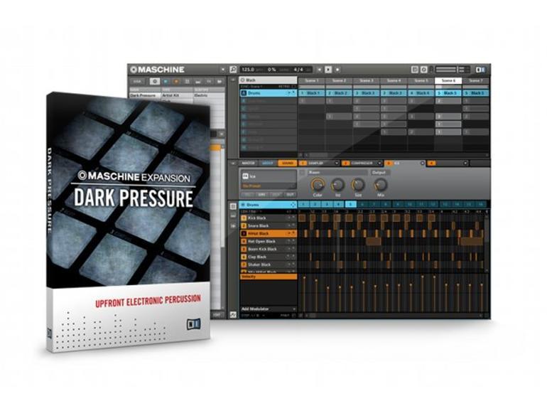 Dark Pressure: Frische Club-Sounds für NI Maschine