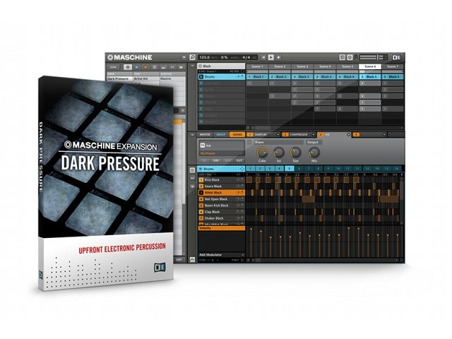 Dark Pressure: Frische Club-Sounds für NI Maschine