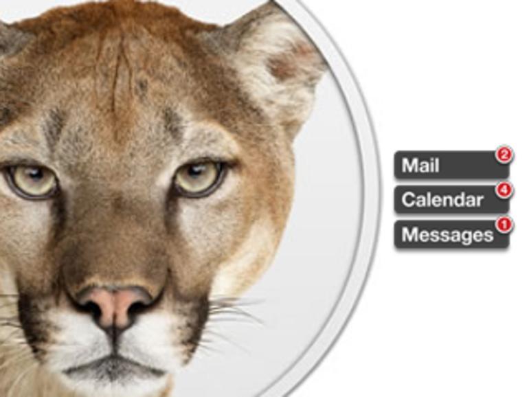 OS X Mountain Lion: Die Nachrichtenzentrale im Überblick