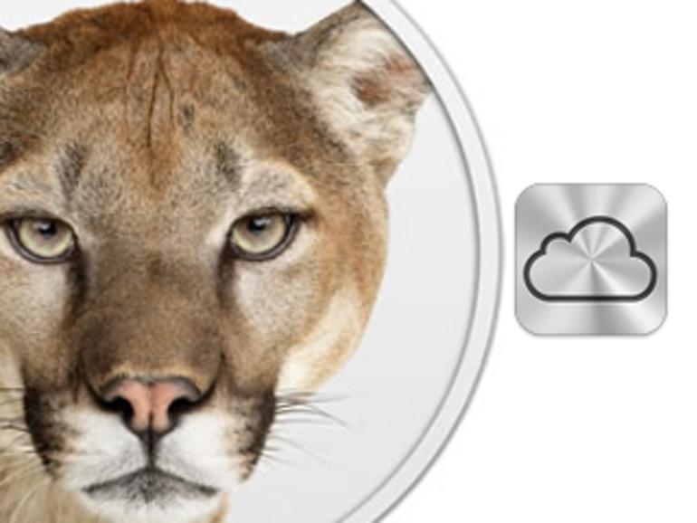 OS X Mountain Lion: OS X 10.8 mit weitreichenderer iCloud-Integration