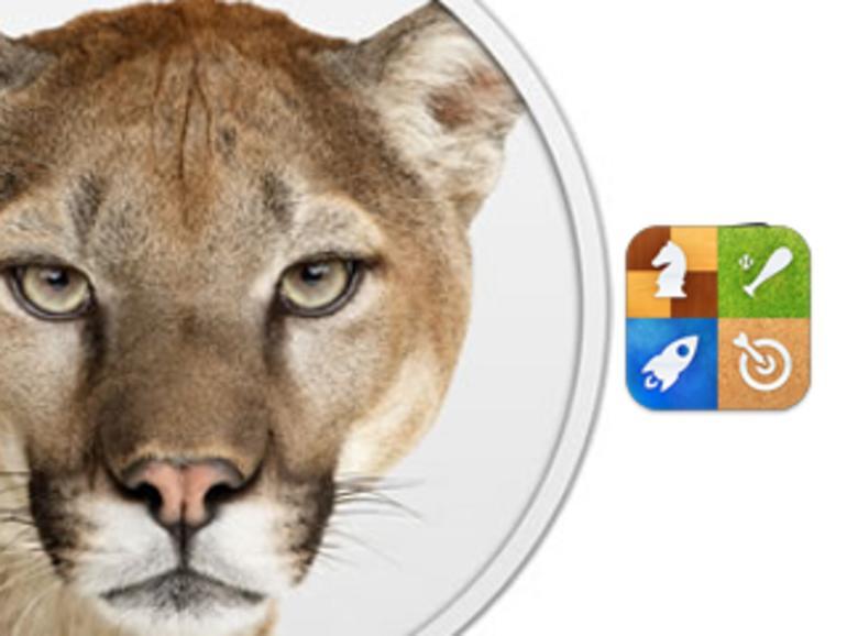 OS X Mountain Lion mit Game-Center-Integration