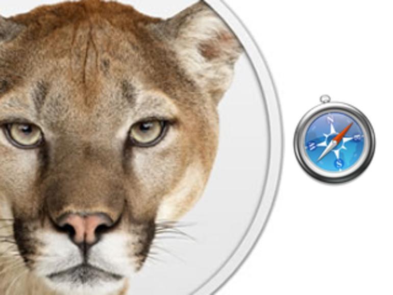 OS X Mountain Lion: Die Neuerungen in Safari 5.2