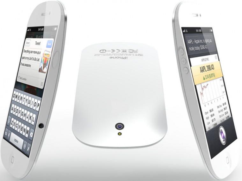 Neue iPhone-5-Designstudie: Inspiriert von der Magic Mouse