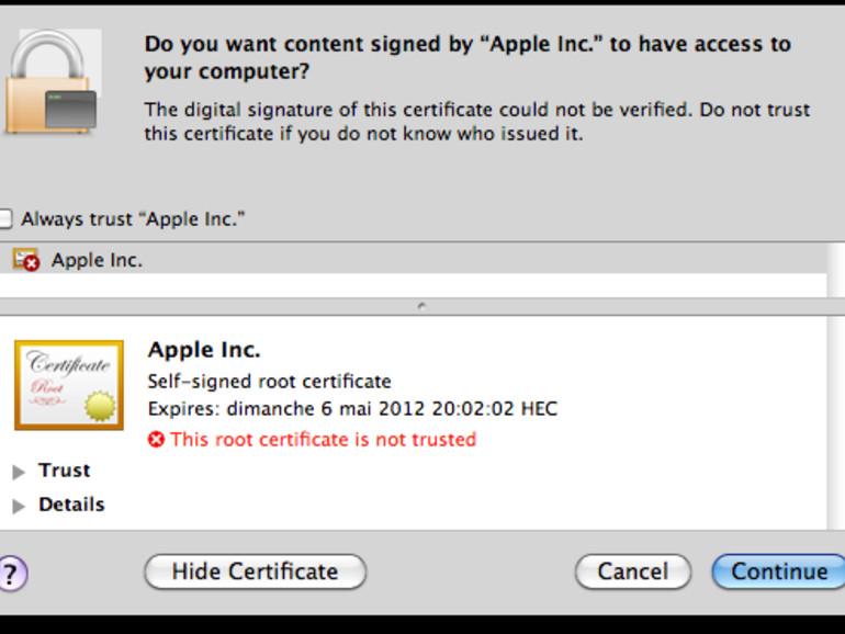 Flashback.G: Mac-Trojaner schlägt zurück