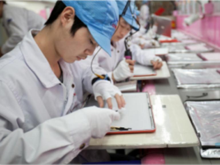 Foxconn verpflichtet sich zu besseren Arbeitsbedingungen