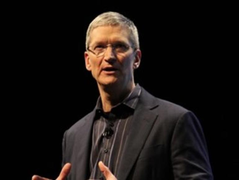 Apple-Chef Tim Cook trifft führende Vertreter aus der Medienindustrie