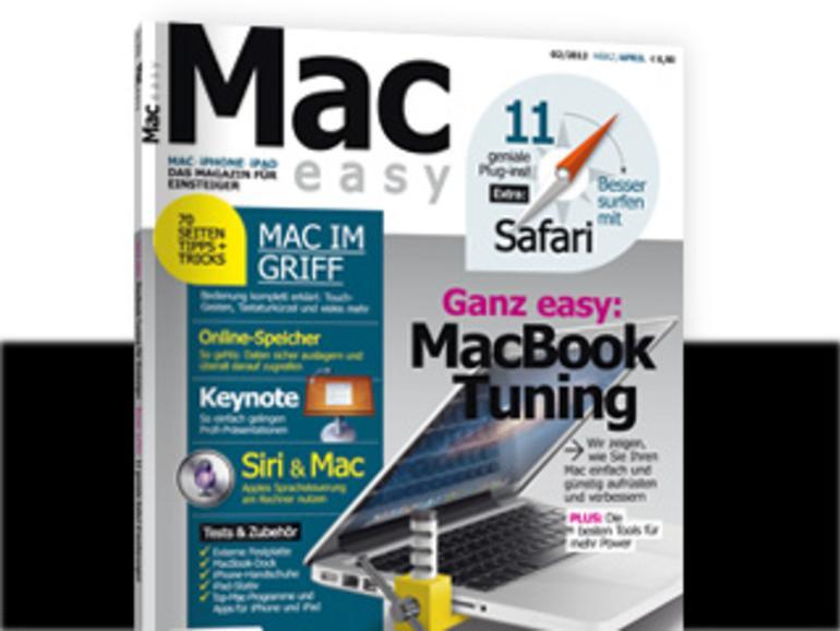 MAC easy 02.2012: MacBook-Power-Tuning & iCloud-Alternativen