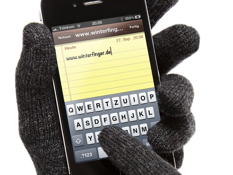 Winterfinger: iPhone-kompatible Touchscreen-Handschuhe