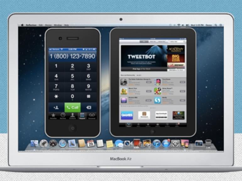 Reflection: iPad-2- und iPhone-4S-Bildschirmvideos auf den Mac streamen