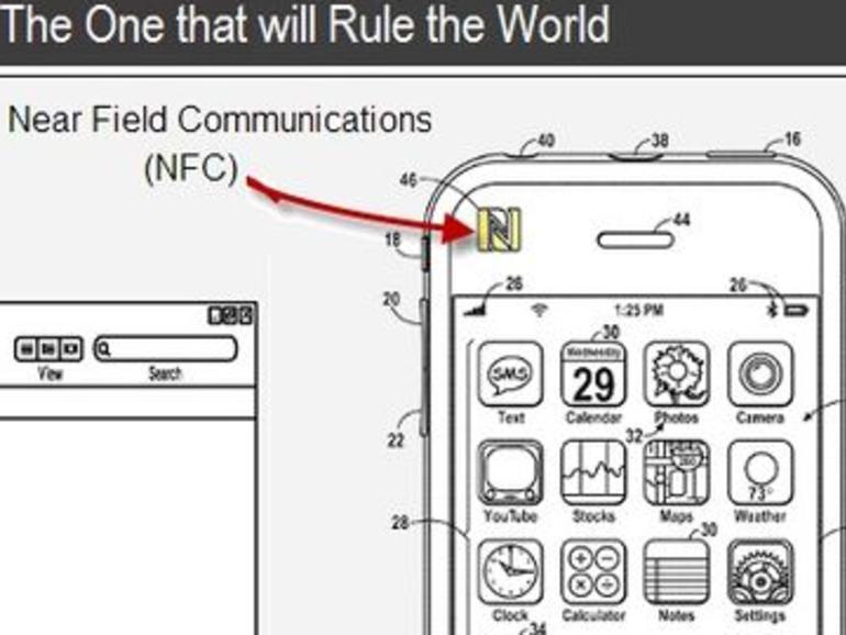 """Bezahlen mit dem iPhone: Apple erhält """"iWallet""""-NFC-Patent zugesprochen"""