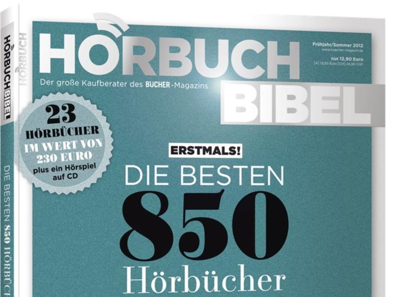 HörbuchBIBEL 2012: Die 850 besten Hörbücher der letzten 5 Jahre
