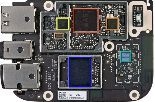 Apple TV 3. Generation: iFixIt findet neues Antennendesign, identifiziert Chips