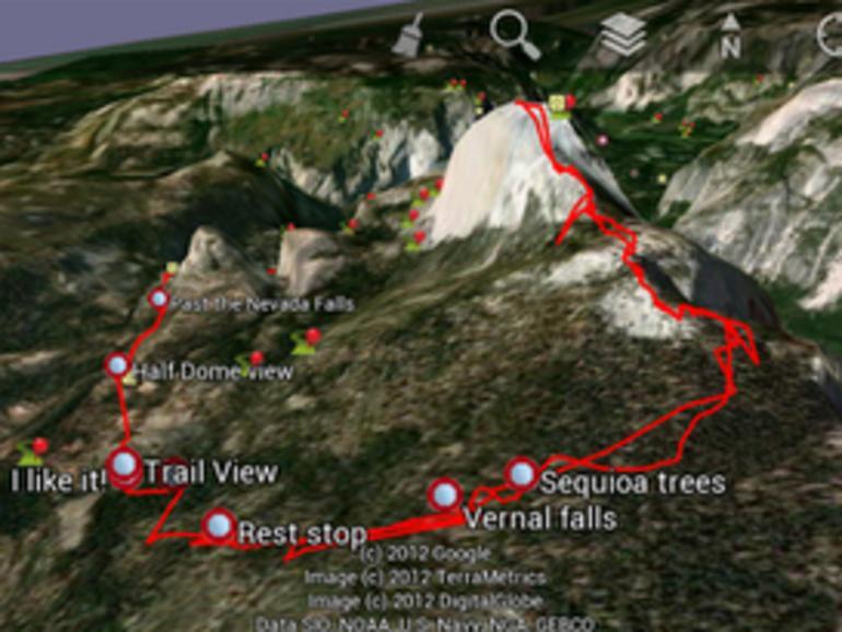 Google Earth für iOS unterstützt ab sofort KML