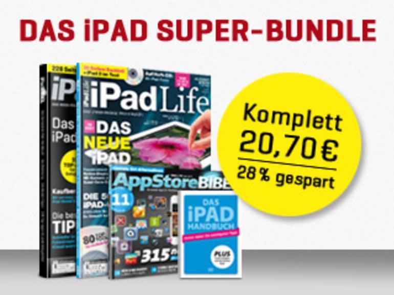 Das iPad Super-Bundle: 528 Seiten Kompendium, Tests, Tipps und Apps