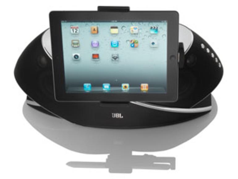 Test: JBL OnBeat Xtreme, die XXL-iPad-Dockingstation
