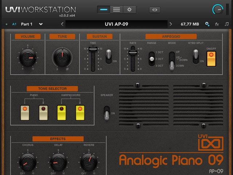 Analogic Piano 09 von UVI Soundsource