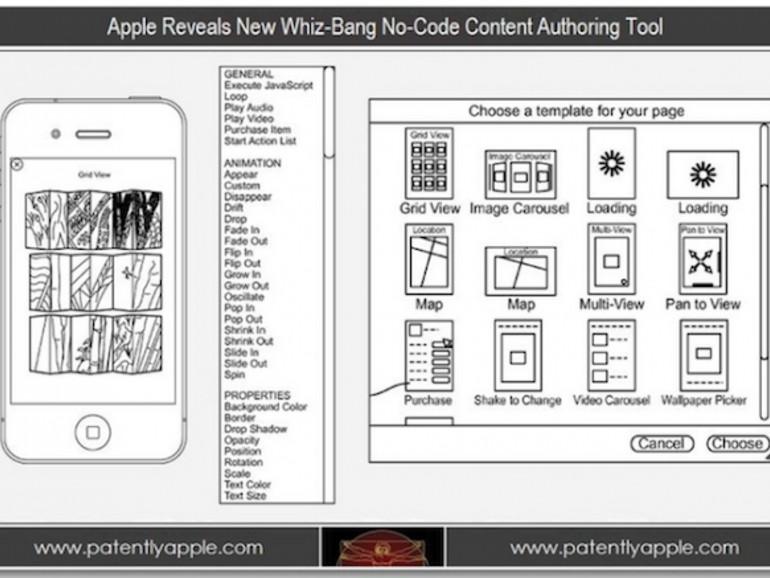 Apple-Patentantrag: iOS-Apps ohne Programmierkenntnisse erstellen