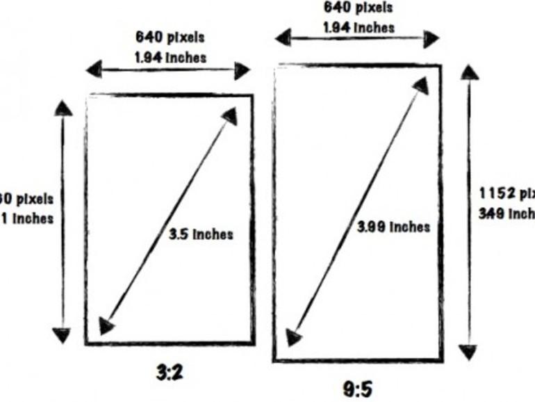 iPhone 5: So könnte ein 4-Zoll-Bildschirm in der Praxis aussehen