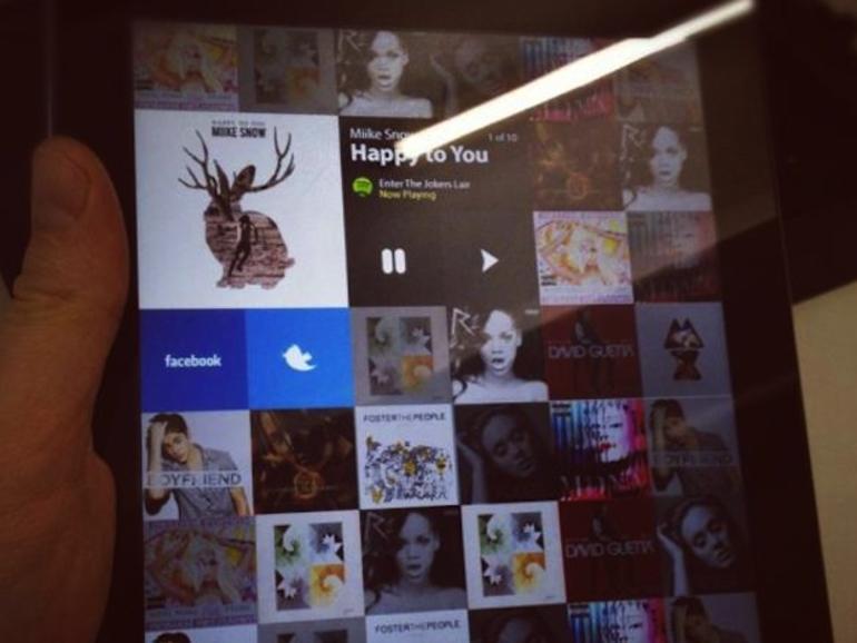 Spotify für das iPad: Inoffizielle App in Entwicklung