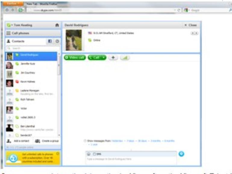 Skype: Microsoft arbeitet angeblich an HTML5-Version