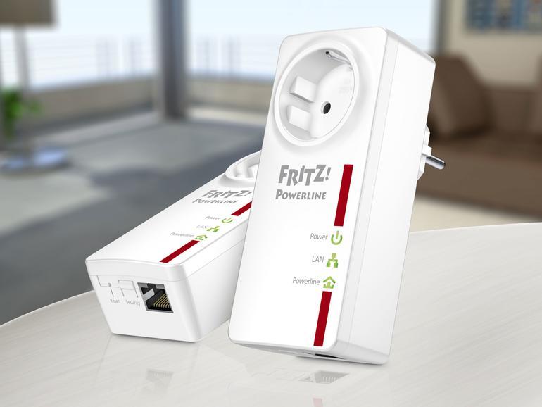 Kurztest: AVM Fritz!Powerline 520E