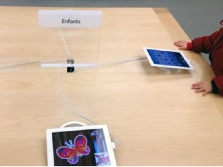 Kinderecke in den Apple Stores ab sofort mit iPads statt iMacs