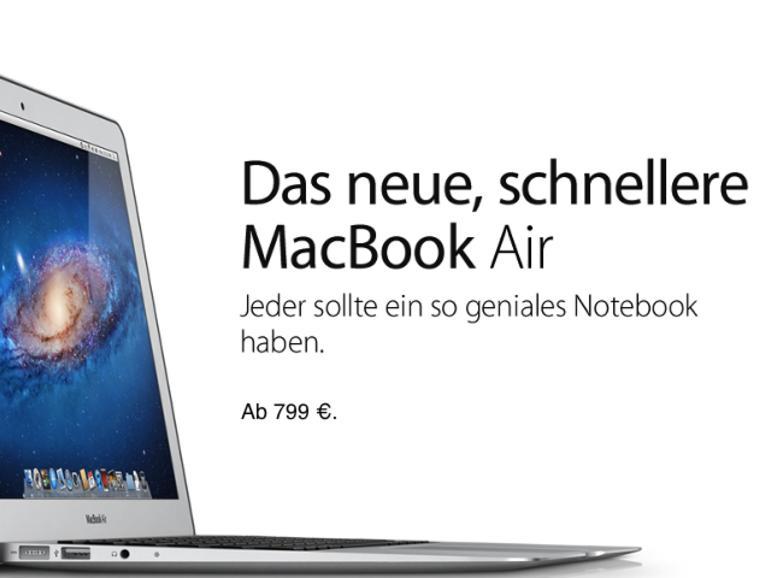 MacBook Air: 799-US-Dollar-Modellvariante im dritten Quartal 2012?