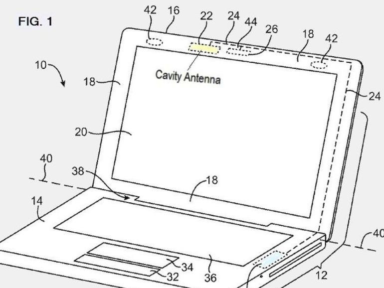 Apple erhält Patent für interne Mobilfunkantenne im MacBook