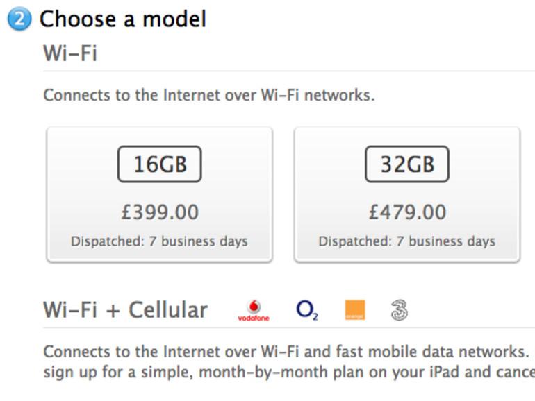 Apple ändert Bezeichnung des iPad Wi-Fi + 4G in einigen Ländern