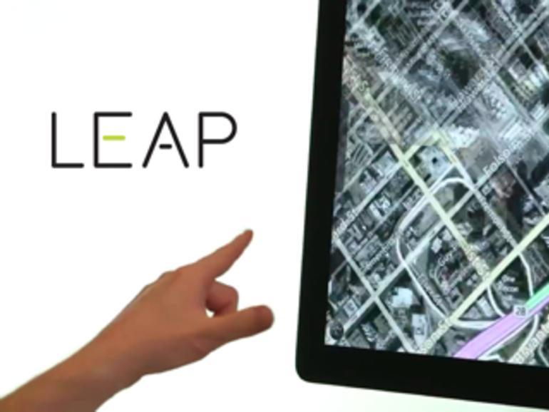Mac-Bewegungssteuerung Leap erreicht finale Testphase