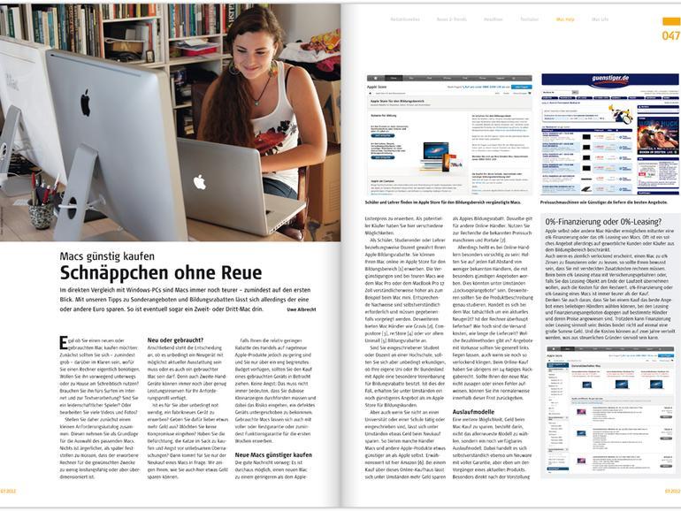 Mac Life 07.2012: Cloud-Dienste im Vergleich u. v. m.