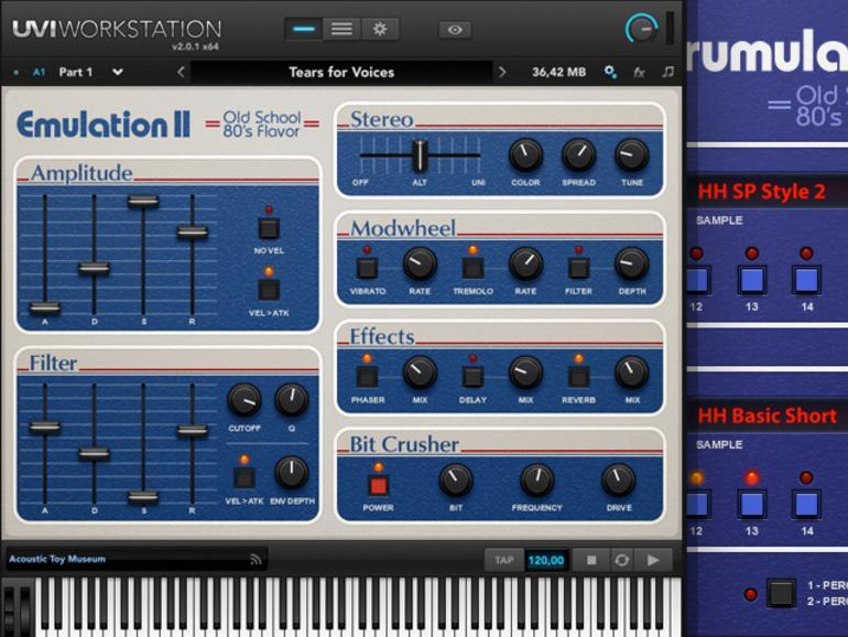 Test: UVI Emulation II