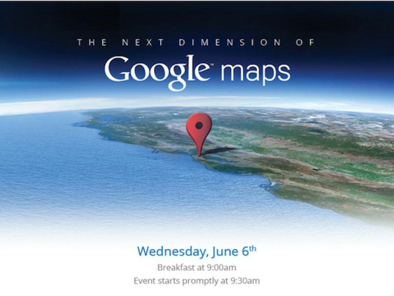 Google plant Enthüllung der nächsten Generation von Google Maps vor WWDC
