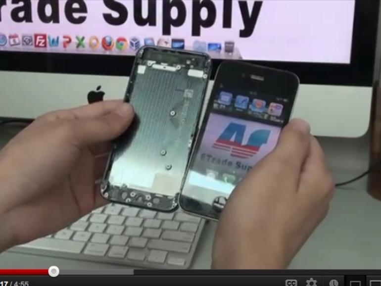 iPhone 5: Video zeigt angebliches Bauteil