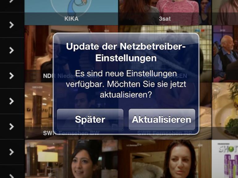 """Netzbetreiber-Update bei der Telekom: """"Persönlicher Hotspot"""" für das iPad 3"""