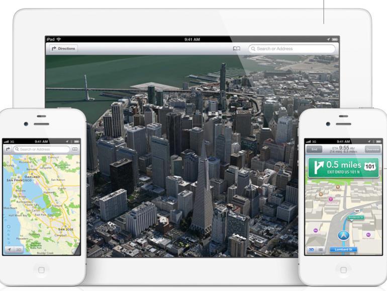 Hack: 3D-Karten von iOS 6 auf dem iPhone 4