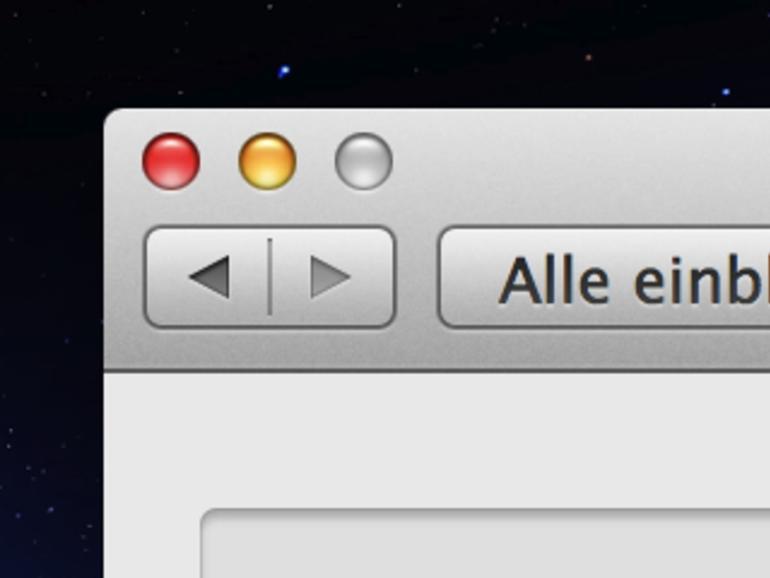 OS X: Fenster minimieren einmal anders