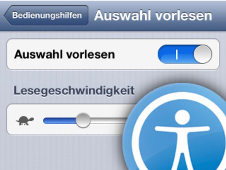Vorlesefunktion: So aktiviert man Text-to-Speech auf iPhone, iPad und iPod touch