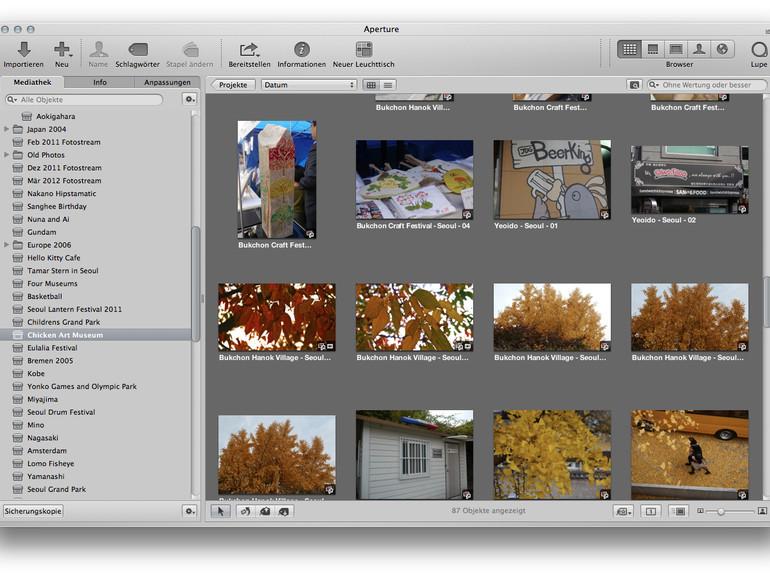 Apple veröffentlicht Aperture- und iPhoto-Update, führt iPhoto- und Aperture-Mediathek zusammen