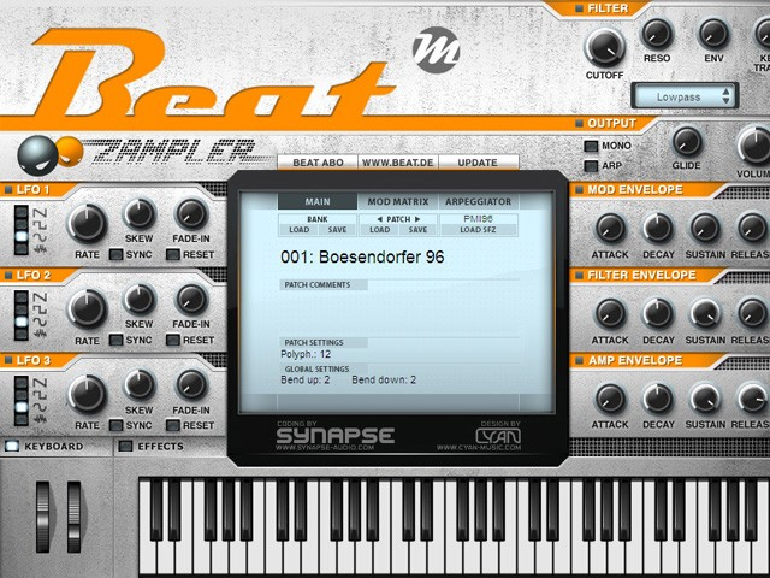Beat Zampler - Kostenlose Power-Workstation