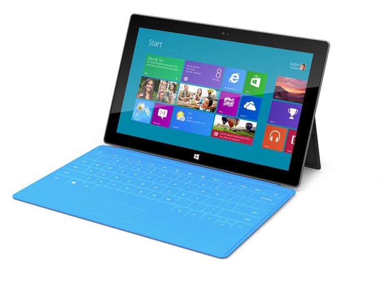 Surface: Microsoft präsentiert eigenes Tablet mit Windows 8