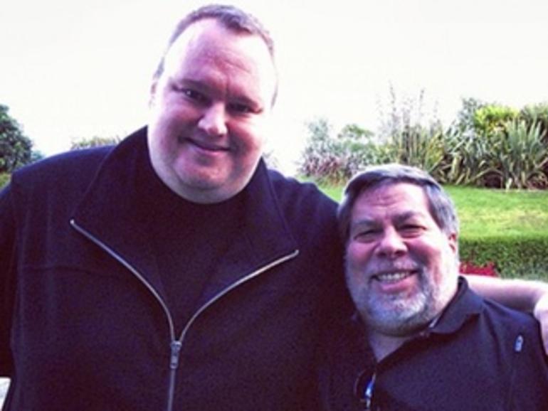 """""""MegaWoz"""": Kim Dotcom dankt Steve Wozniak"""