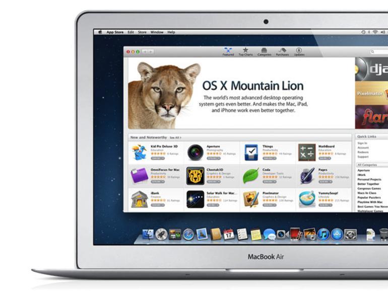 OS X Mountain Lion veröffentlicht, Kauf per Download ab sofort möglich