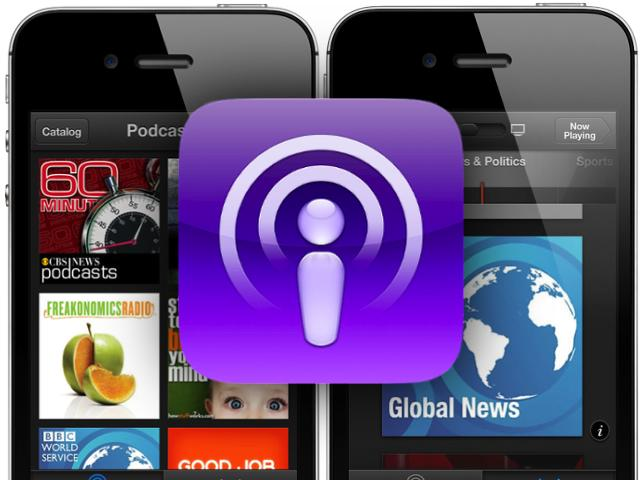 Apple aktualisiert Podcasts-App