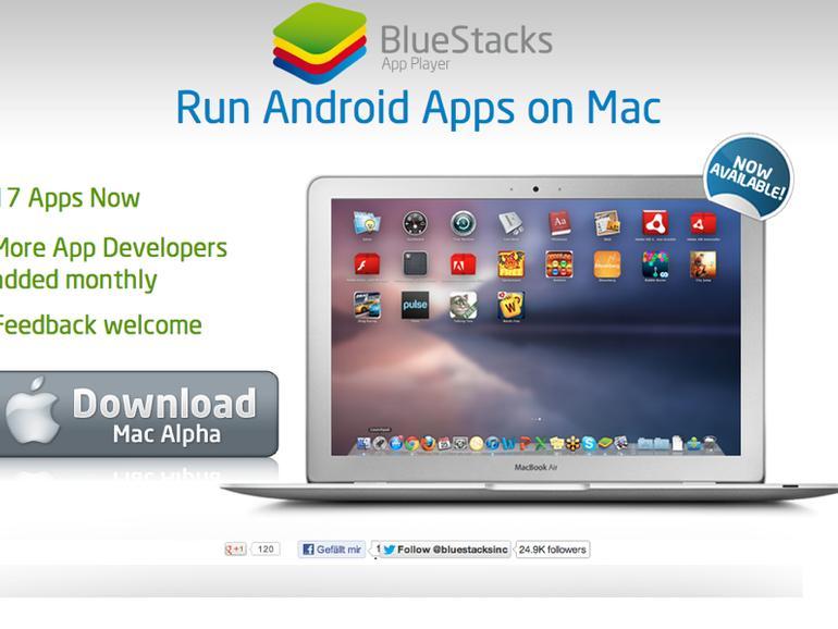BlueStacks: Android-Apps unter OS X ausführen